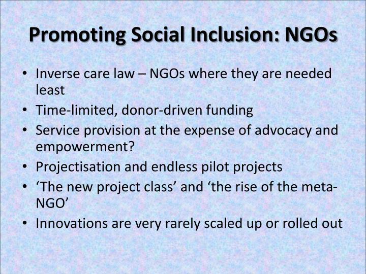 Promoting Social