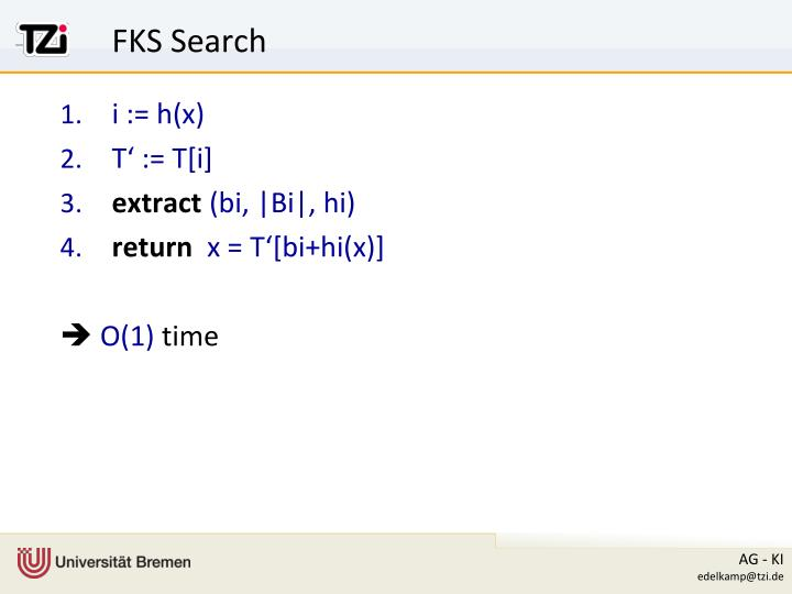 FKS Search