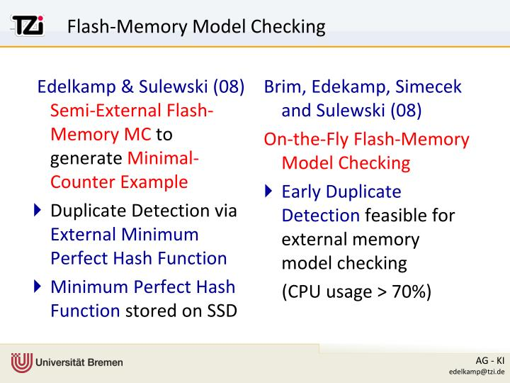 Flash-Memory Model