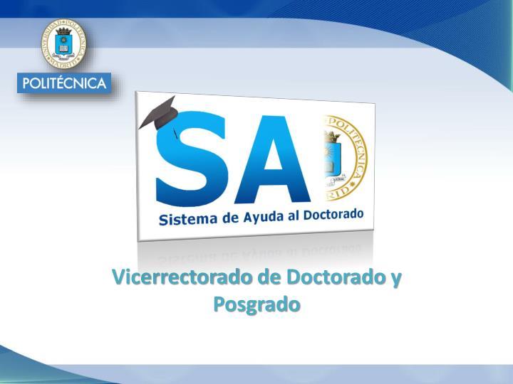 Vicerrectorado