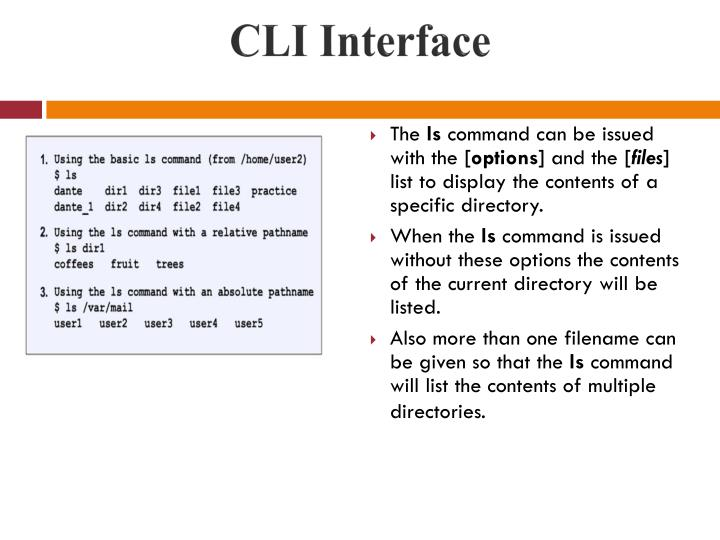 CLI Interface