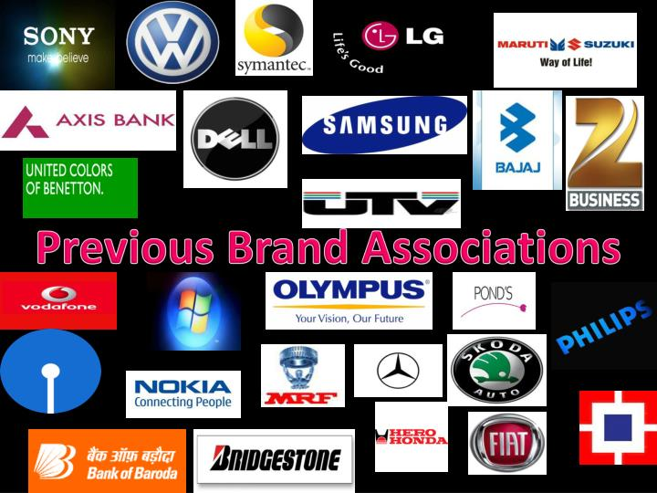 Previous Brand Associations