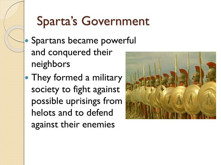 Sparta's Government