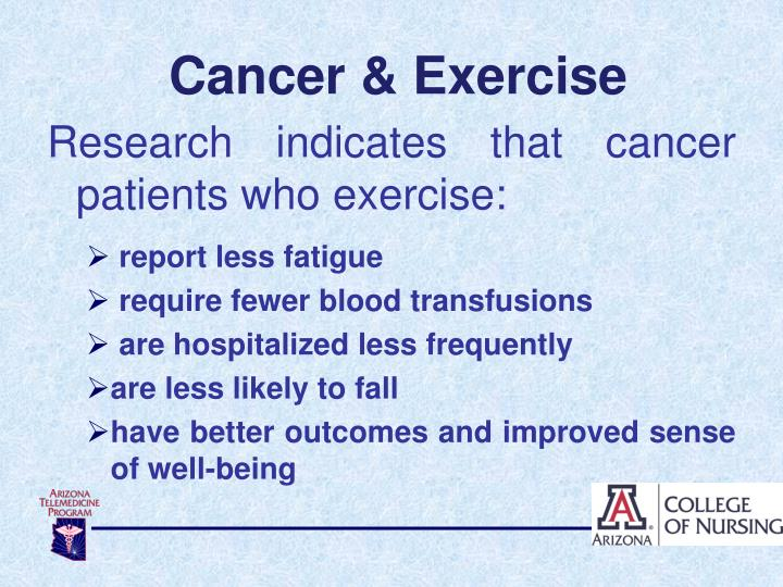 Cancer & Exercise