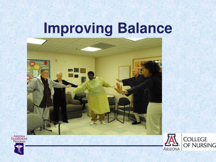 Improving Balance