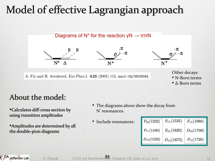 Model of effective