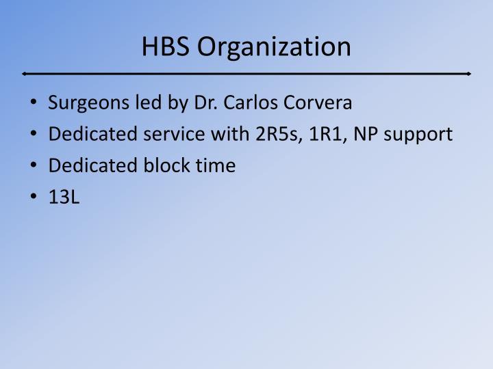 HBS Organization