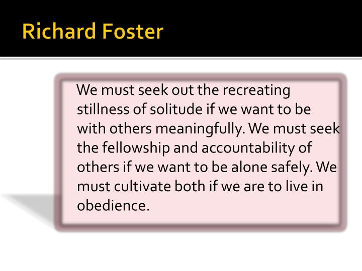 Richard Foster