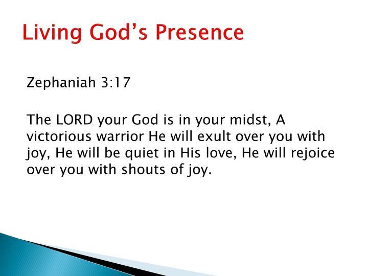 Living God's