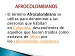 afrocolombianos