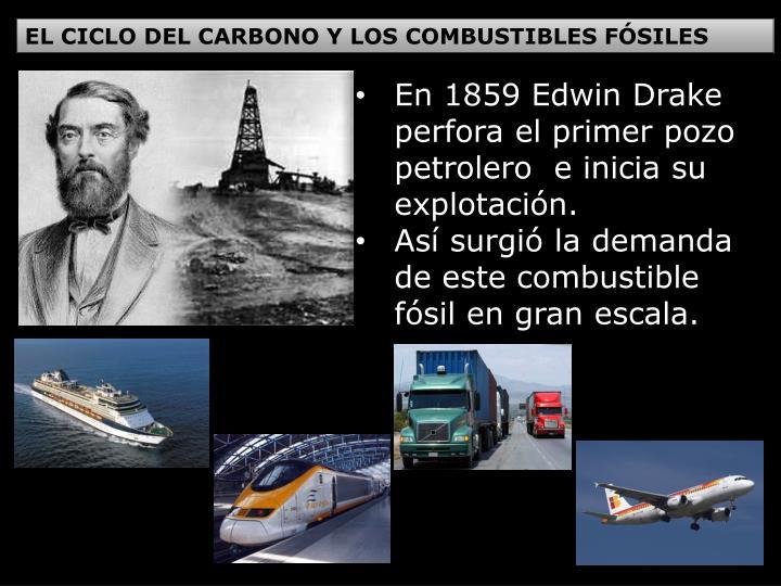 EL CICLO DEL CARBONO Y LOS COMBUSTIBLES FÓSILES