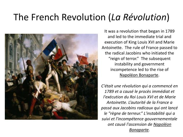 leading cause of french revolution