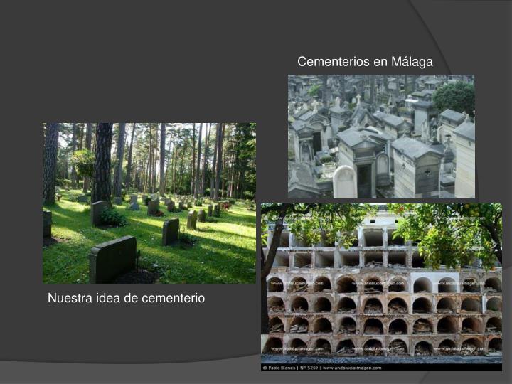 Cementerios en Málaga