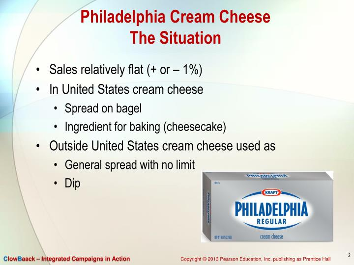 Philadelphia cream cheese the situation