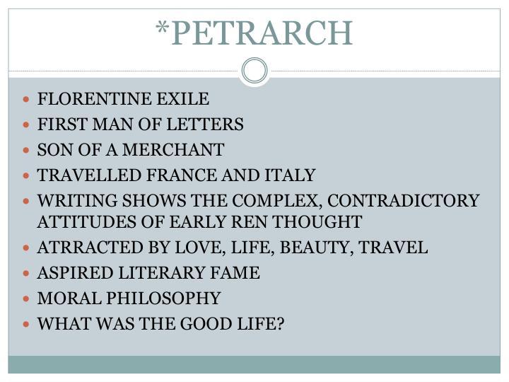 *PETRARCH