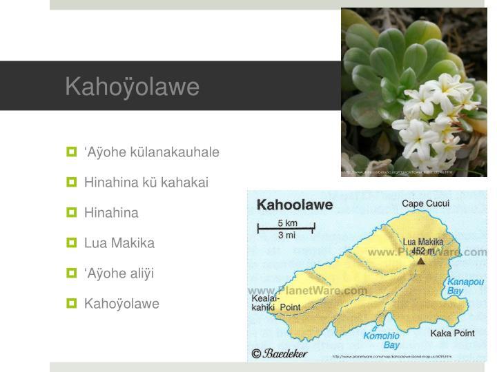 Kahoÿolawe
