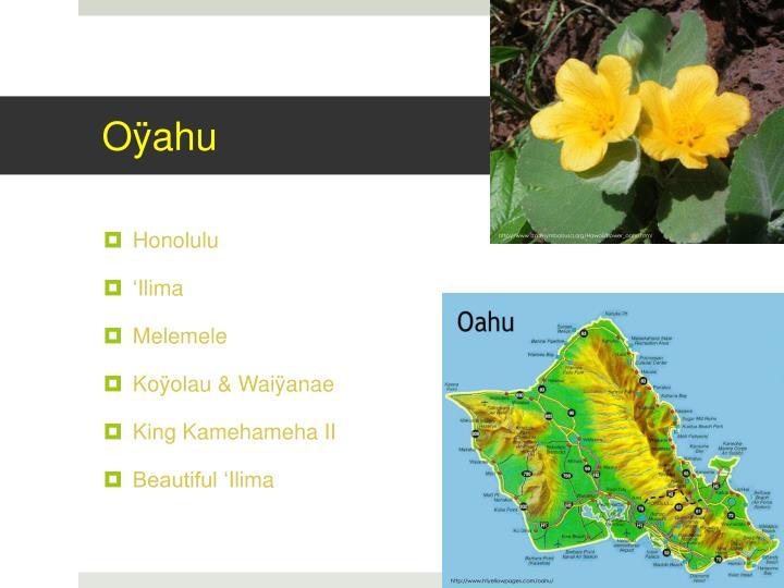 Oÿahu