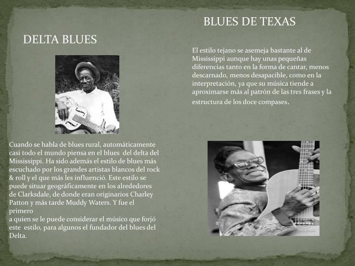 BLUES DE TEXAS