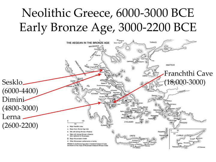 Neolithic Greece, 6000-3000 BCE