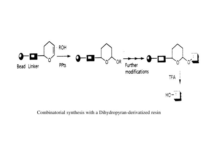 Combinatorial synthesis with a