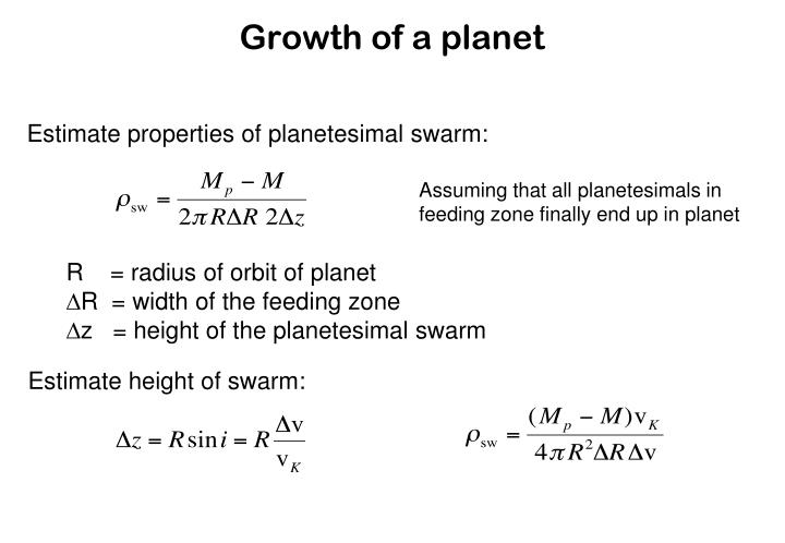 Estimate height of swarm: