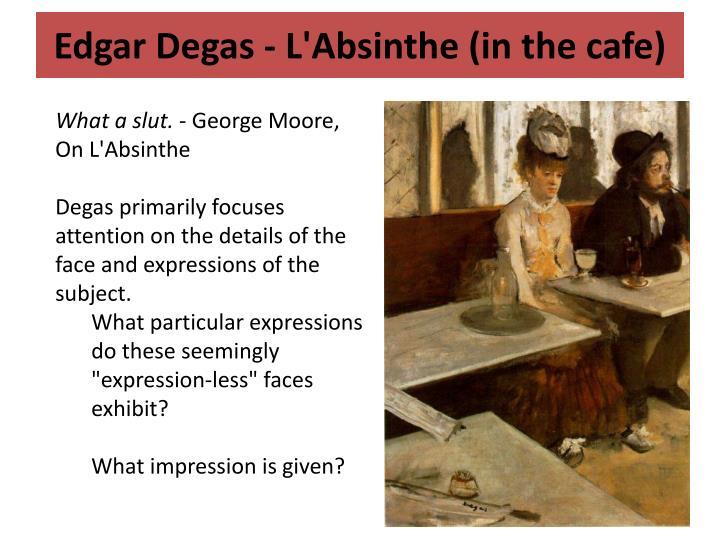 Edgar Degas -