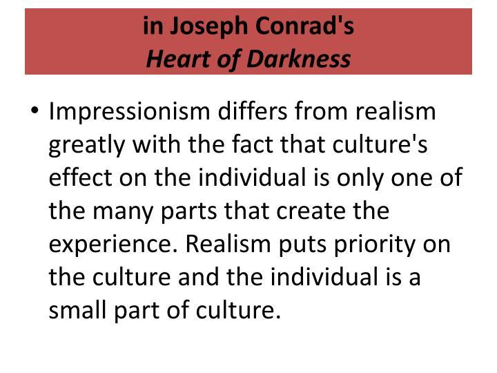 in Joseph Conrad's