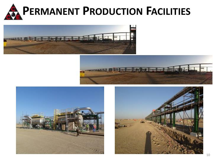 Permanent Production Facilities