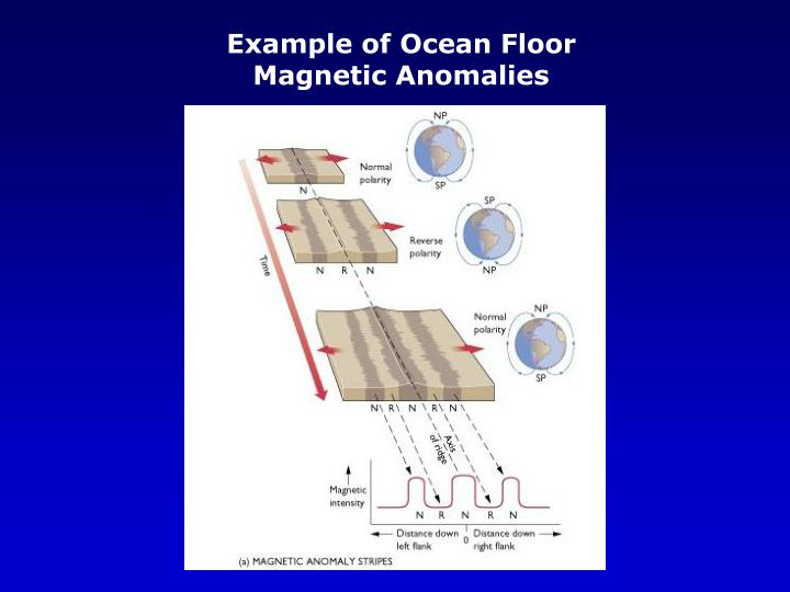 Example of Ocean Floor