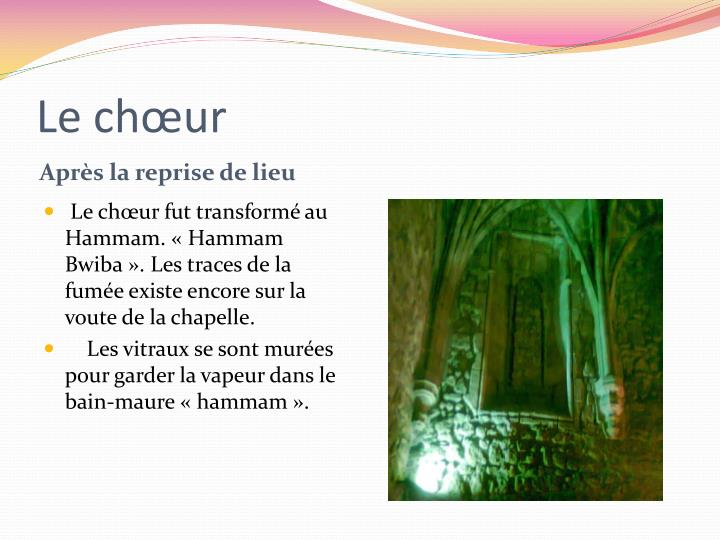 Le chœur