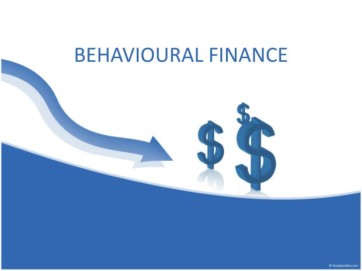 Behavioural finance
