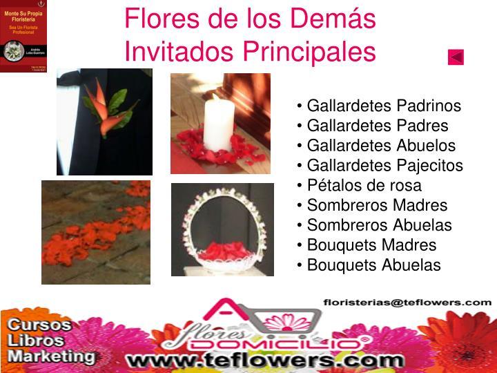 Flores de los Demás