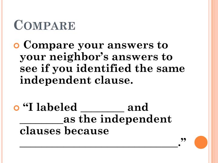 Compare