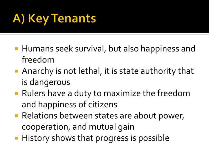 A) Key Tenants