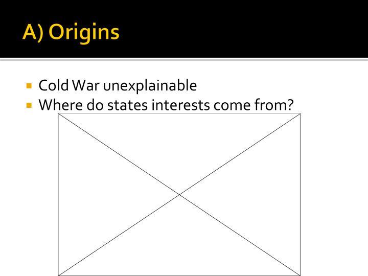 A) Origins