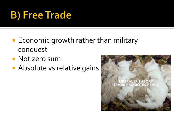 B) Free Trade