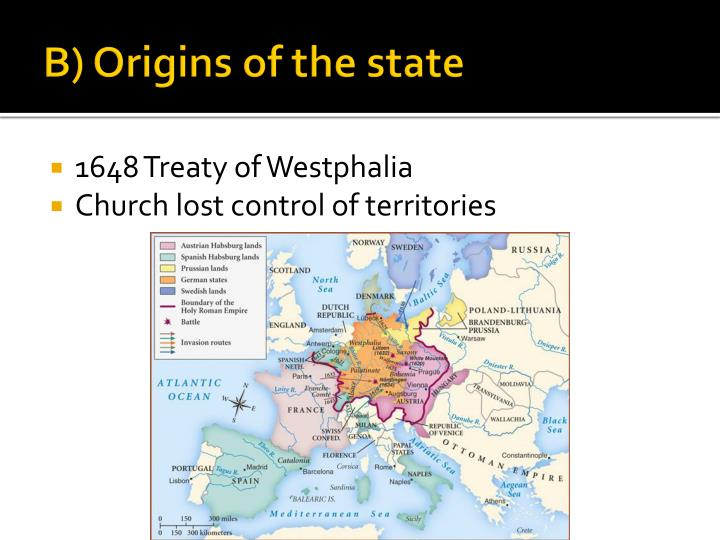 B) Origins of the state