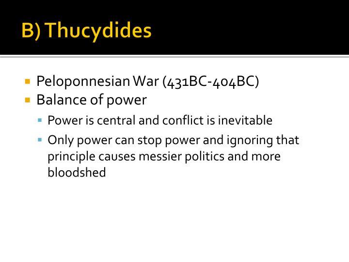 B) Thucydides