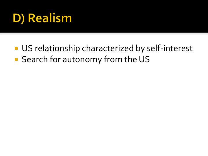 D) Realism