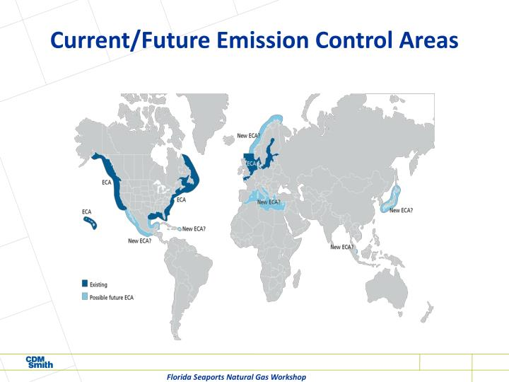 Current/Future Emission Control Areas