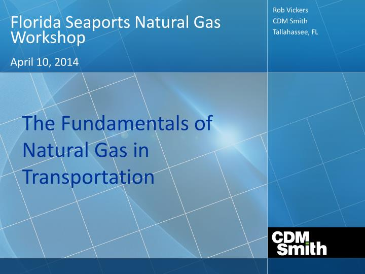 Florida Seaports Natural Gas Workshop