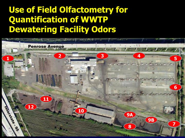 Use of Field Olfactometry for Quantification of WWTP             Dewatering Facility Odors