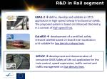 r d in rail segment
