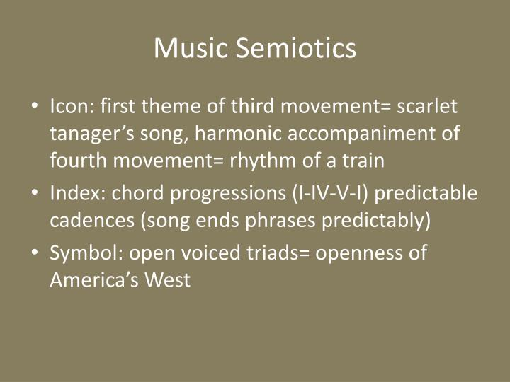 Music Semiotics