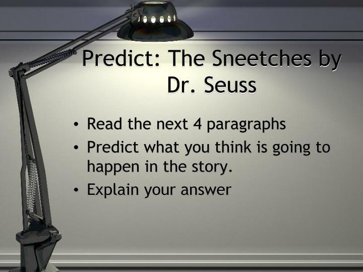 Predict: The