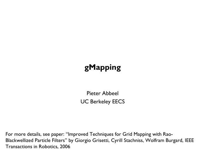 GMapping
