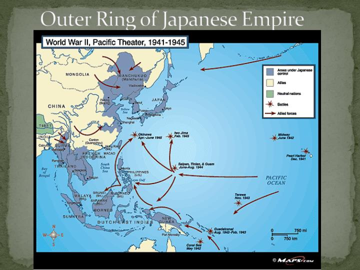 Outer Ring of Japanese Empire