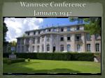 wannsee conference january 1942