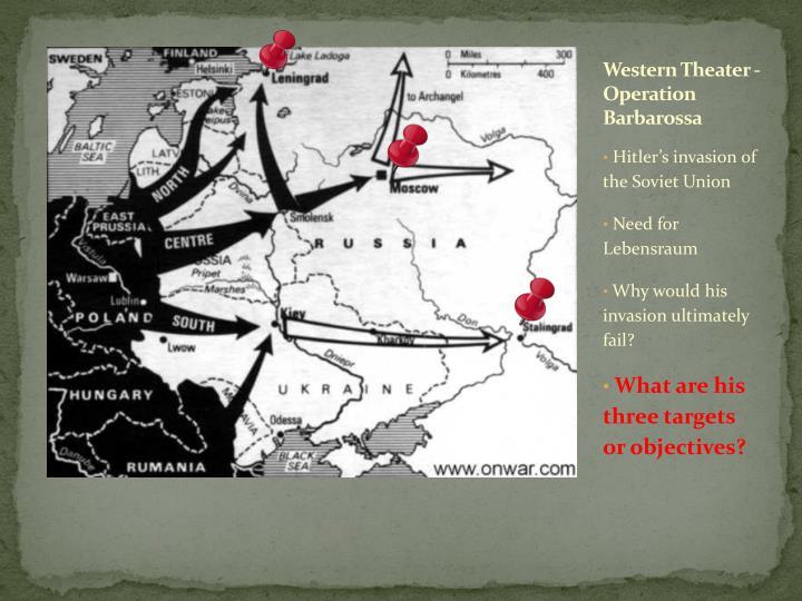 Western Theater - Operation Barbarossa