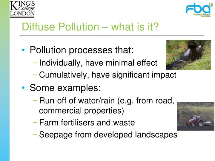 Diffuse Pollution – what is it?